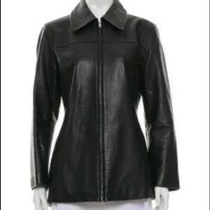 Coach 1941 Black Leather Jacket